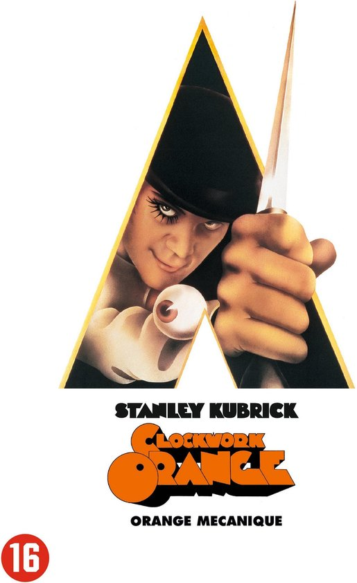 Cover van de film 'Clockwork Orange'