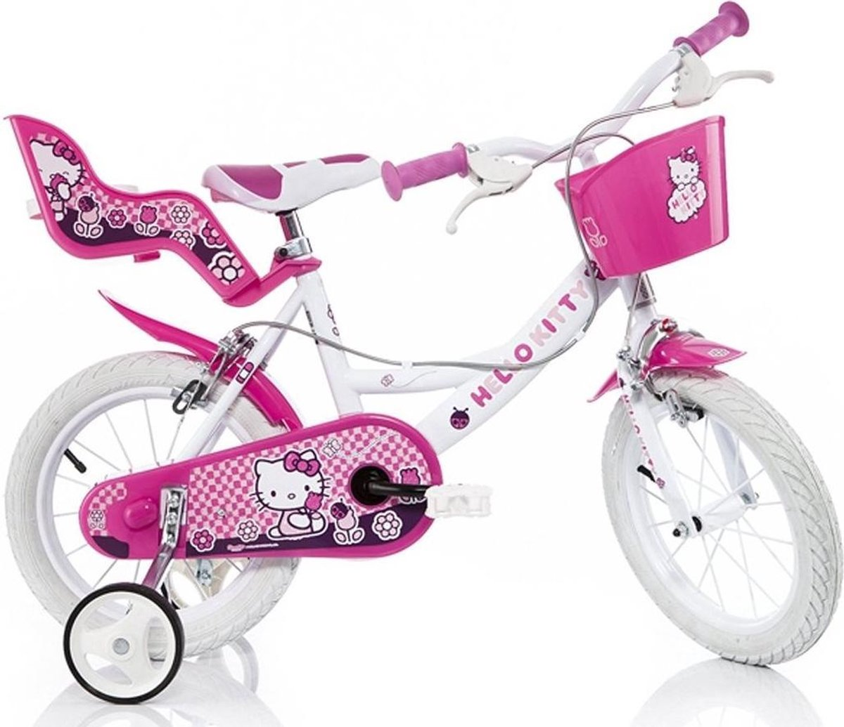 Dino Bikes Dino 164r-hk Hello Kitty Kinderfiets Vrouwen Roze 16 online kopen