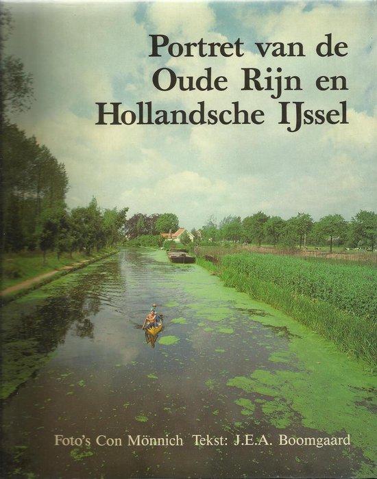 PORTRET VAN OUDE RIJN EN HOLLANDSE IJSSEL - Monnich |
