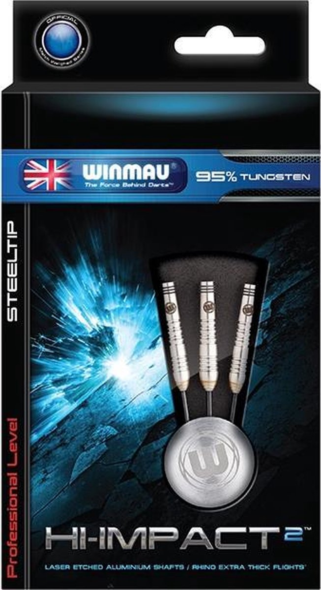 Darts Winmau Hi-Impact 2 95% Tungsten 25 gram