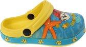 Nickelodeon Klompen Paw Patrol Junior Blauw/geel Maat 32/33