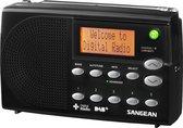 Sangean DPR-65 - Draagbare Radio - DAB+ en FM - Zwart