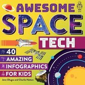 Boek cover Awesome Space Tech van Jenn Dlugos