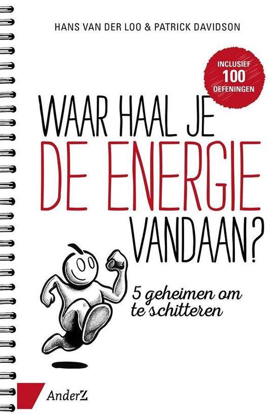 Boek cover Waar haal je de energie vandaan? van Hans van der Loo (Paperback)