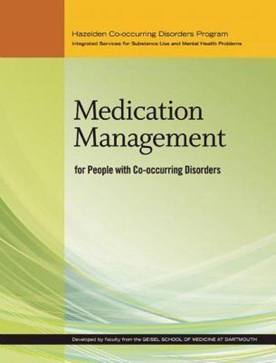 Afbeelding van Medication Management for People With Co-occurring Disorders