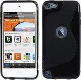 iPod Touch 5G 6G - TPU Bescherm-Hoes Skin Hoesje - Zwart