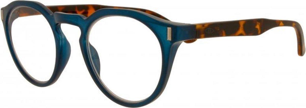 Icon Eyewear RCE352 Nemo Leesbril +2.00 - Petrol blauw montuur, demi pootjes