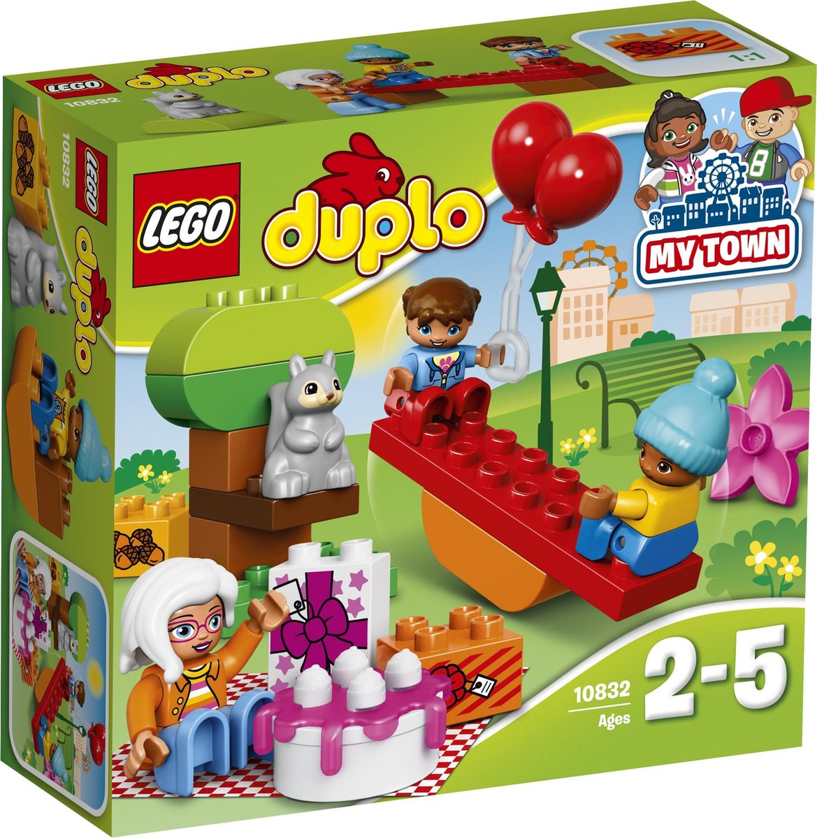 LEGO DUPLO 10832 - Verjaardagspicknick