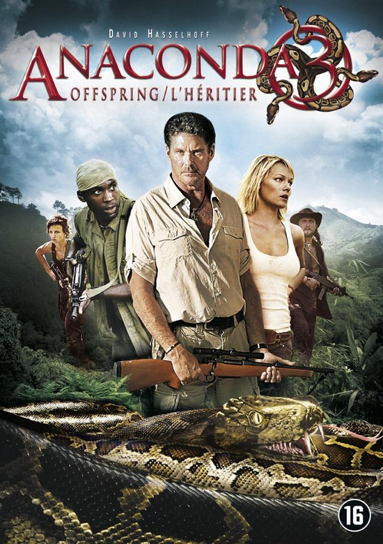 Cover van de film 'Anaconda 3 - Offspring'
