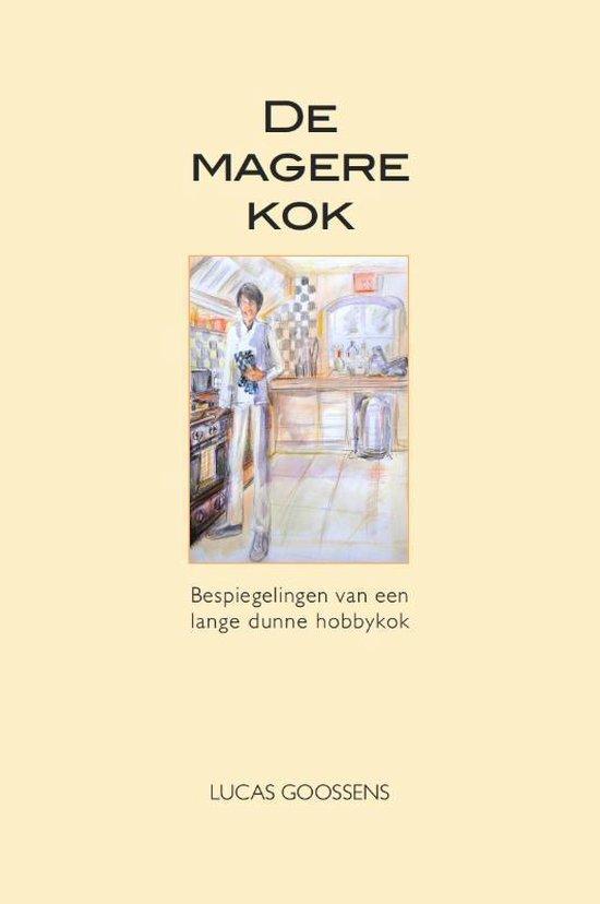 Cover van het boek 'De magere kok' van Lucas Goossens