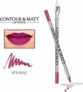 REVERS® Contour & Matt Lip Pencil #1 Rose