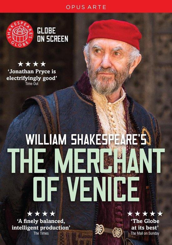 CD cover van The Merchant Of Venice van Shakespeare, William