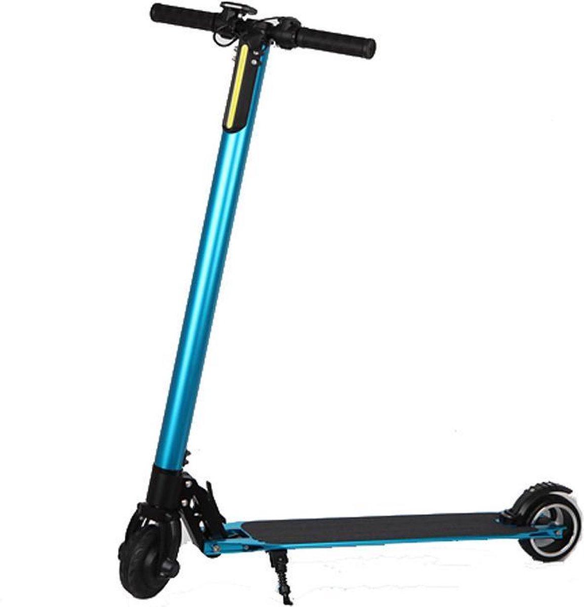 Techno LITE E-Scooter - Elektrische step, Turkoois, opvouwbaar, 250W