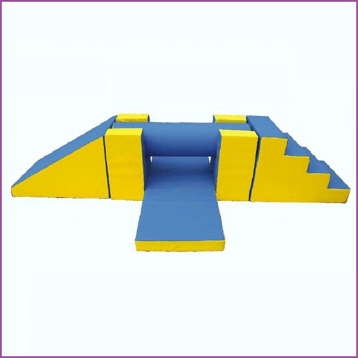 Gymnastiek Rol Set - Speel, Bouw & Zit schuim blokken / kussens / elementen / foam