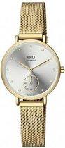 Prachtige dames horloge goudkleurig QA97J001Y