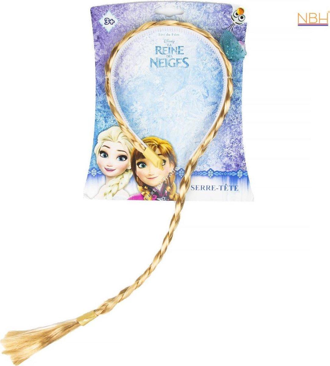 Disney Frozen haarband met Elsa vlecht - Disney