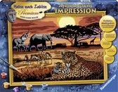 Ravensburger Schilderen op nummer Afrikaanse impressie