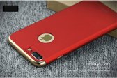 iPaky 3-in-1 Hardcase iPhone 7/8 plus - Rood/Goud