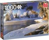 Dal Rivier Zweden Premium Quality - Puzzel 1000 stukjes