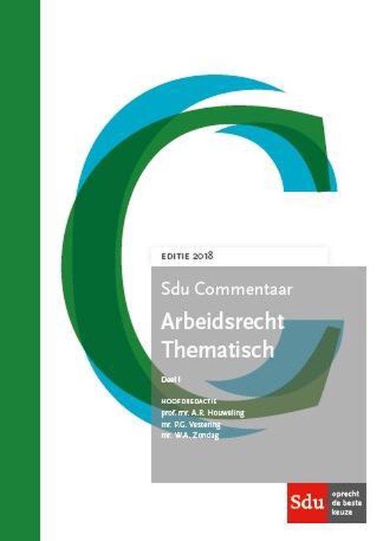 Sducommentaar - Arbeidsrecht thematisch 2018 1 2018 - none |