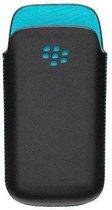 BlackBerry Pocket Hoes voor BlackBerry Curve 9300 - Zwart / Turquoise