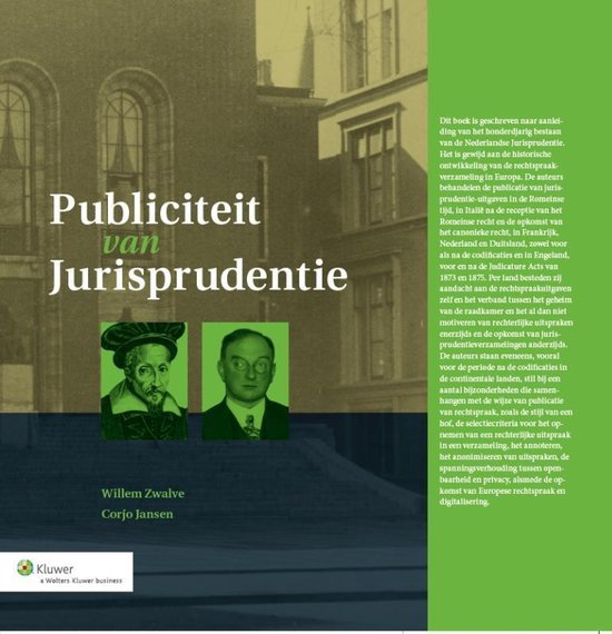 Publiciteit van Jurisprudentie - Wolters Kluwer Nederland B.V. |