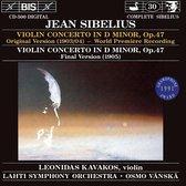 Sibelius - (30) Vn-Conc.