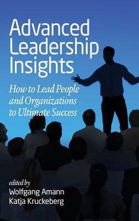 Boek cover Advanced Leadership Insights van  (Hardcover)