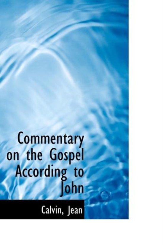 Boek cover Commentary on the Gospel According to John van Calvin Jean (Hardcover)