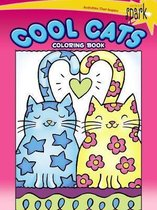 SPARK -- Cool Cats Coloring Book