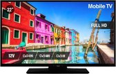 NIKKEI NL22FMBK - 22 inch Full HD TV - LED - 12V - DVBS2/C/T2 - Recreatie - Ziggo gecertificeerd