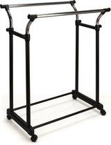 V-Part Kledingrek - Verrijdbaar - 170cm - Zwart