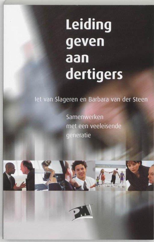 Leiding geven aan dertigers - I. Van Slageren pdf epub