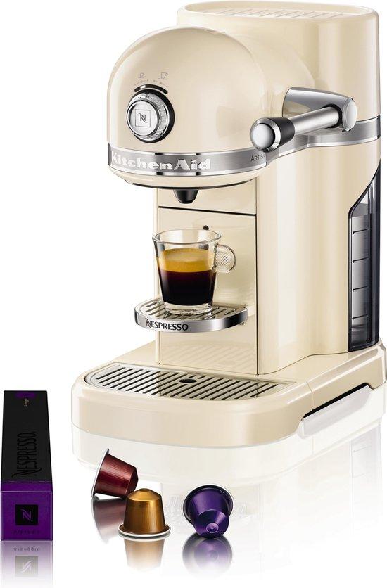 Kitchenaid KA5KES0503EAC Nespresso Artisan Amandelwit
