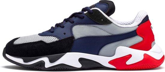 Puma Storm Origin - Rood - Heren - Sneakers - Sportschoenen - Maat 42