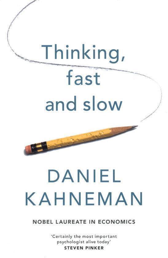 Boek cover Thinking, Fast And Slow van D. Kahneman (Onbekend)