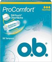 O.B. - ProComfort Normaal Tampons 56 stuks
