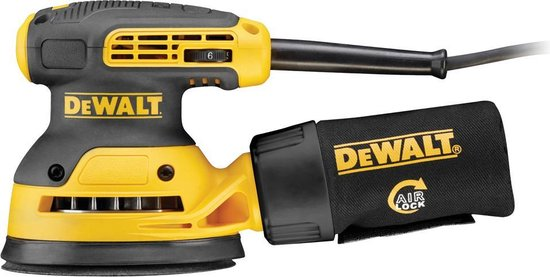 DeWalt DWE6423-QS280W Excentrische Schuurmachine- 280 W -  Ø 125 mm schuuroppervlak