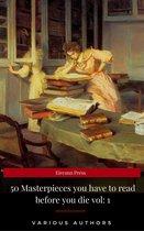 Boek cover 50 Masterpieces you have to read before you die vol: 1 van Lewis Carroll