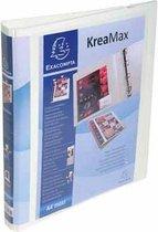 Exacompta Personaliseerbare ordner Kreamax ringen van 16 mm rug van 42 cm