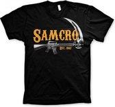 SAMCRO t-shirt voor heren 2XL