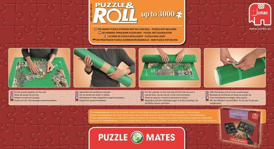 Afbeelding van Jumbo Puzzle & Roll Puzzelmat 1000 tot 3000 Stukjes