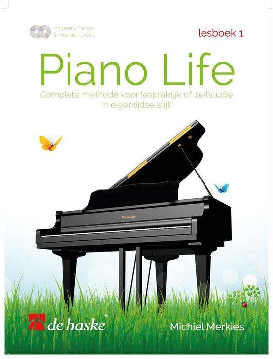 Boek cover Piano Life Lesboek 1 van Merkies, Michiel (Onbekend)