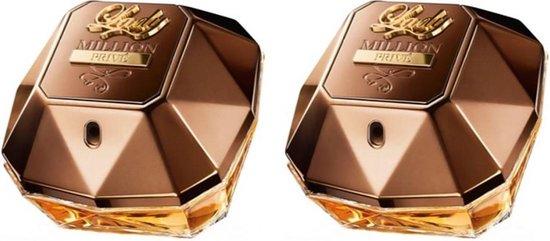 MULTI BUNDEL 2 stuks Paco Rabanne Lady Million Prive Eau De Perfume Spray 50ml