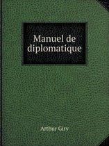 Manuel de Diplomatique