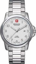 Swiss Military Hanowa 06-5231.04.001 horloge heren - zilver - edelstaal