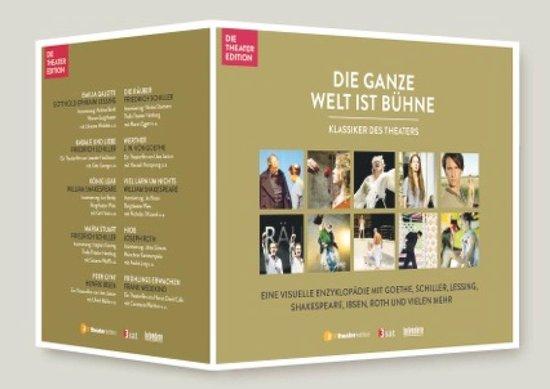 CD cover van Klassisker Des Theaters / 10Er Box van Lessing, Gotthold-Ephraim