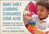 Omslag Make Early Learning Standards Come Alive