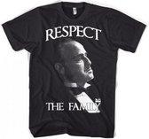 Godfather Respect t-shirt heren L