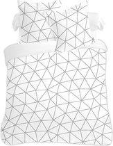 VISION Hugo - Dekbedovertrekset -Lits-jumeaux - 240x220cm - 100% katoen